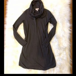 2/$25 LOFT cowl tunic dress